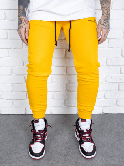 Tepláky Born - žlté