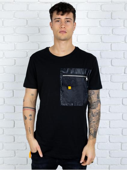 Tričko Pass - čierné