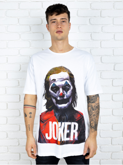 Tričko Joker - bielé