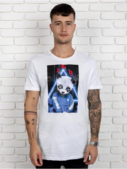 Triko Panda - biele