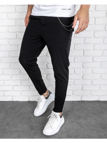 Nohavice Glass - Čierne