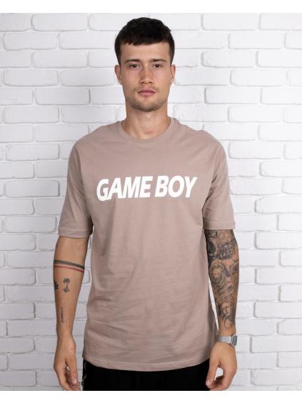 Triko Gameboy - Hnedé