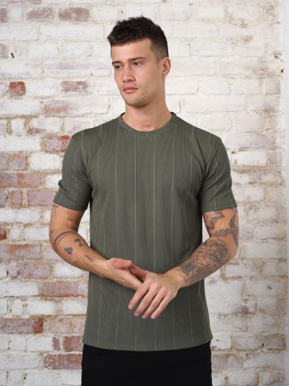Tričko Dell - khaki