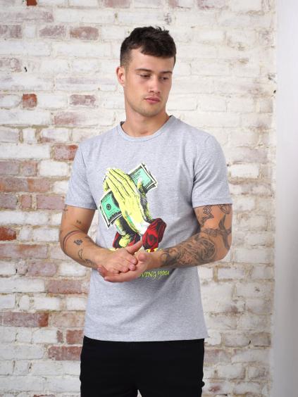 Tričko Dinnero - sivá