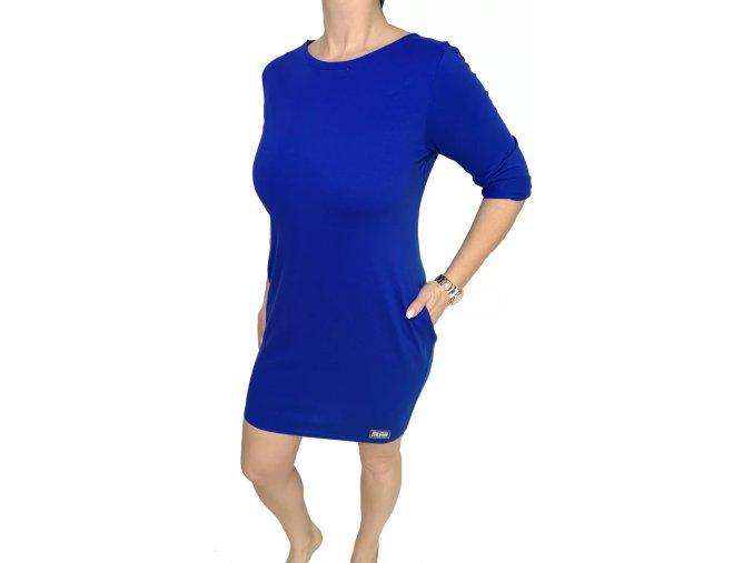 jednobarevné modré