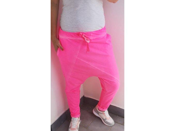 baggy neon růžové