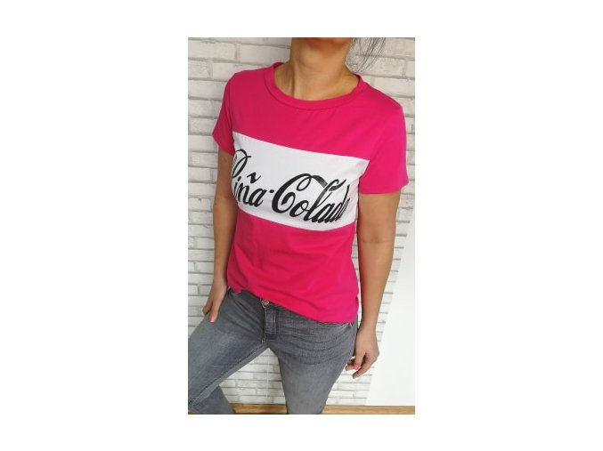 triko pinacolada růžové
