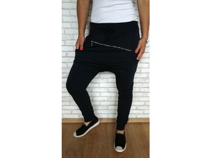 baggy zip černé