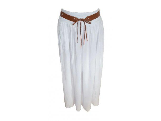 sukně bílá