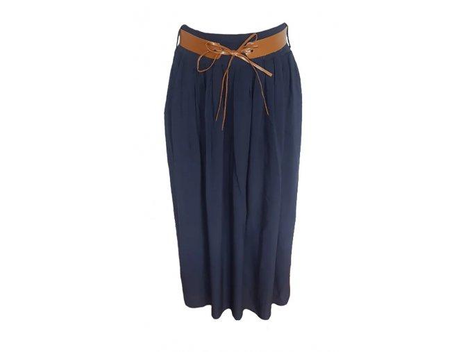 sukně tm.modrá