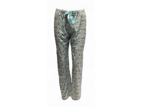 Dámské pyžamové kalhoty hvězdičky