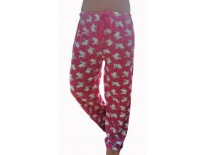Dámské pyžamové kalhoty králíčci