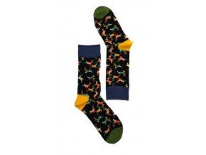 Dámské ponožky jeleni (Velikost 35-38)