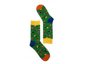 Dámské ponožky jeleni 2 (Velikost 35-38)