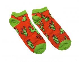 ponožky kaktus