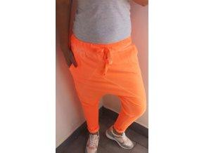 baggy neon oranžové