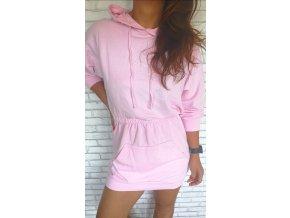 sportovní šaty růžové