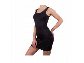 tílko šaty černé