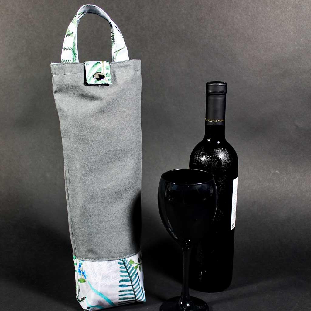 Plátěná taška na víno