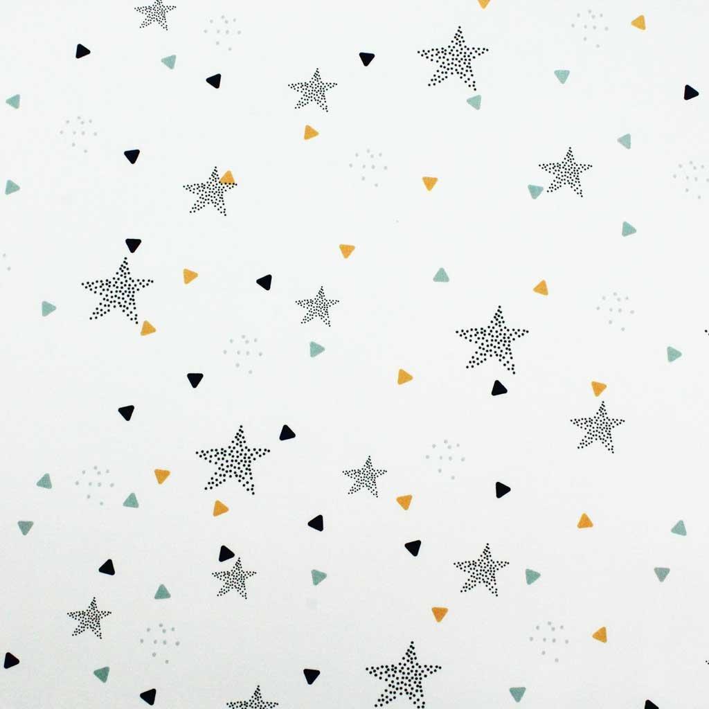 Bavlněná látka PREMIUM - hvězdičky