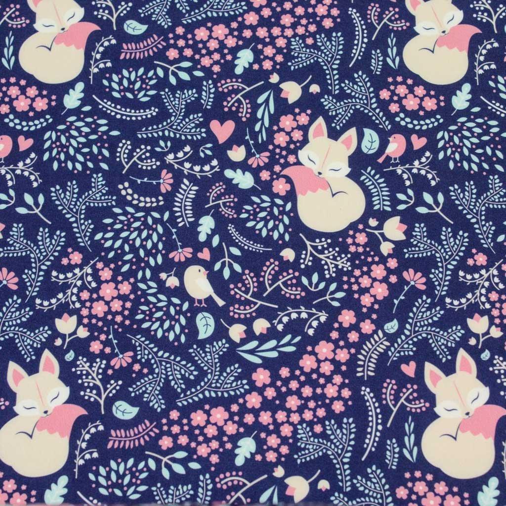 Bavlněná látka PREMIUM - lišky