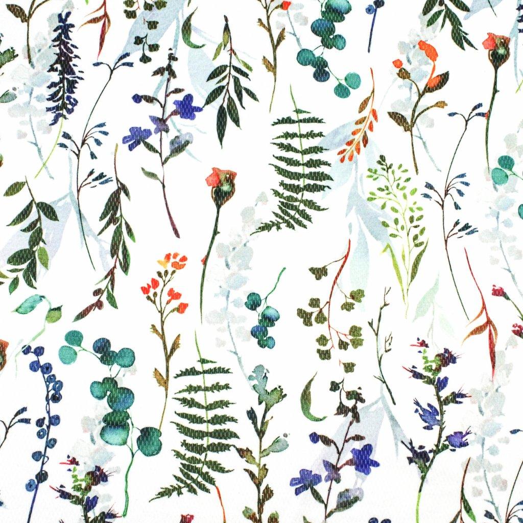 INTERLOCK SPORT- květy a lístky