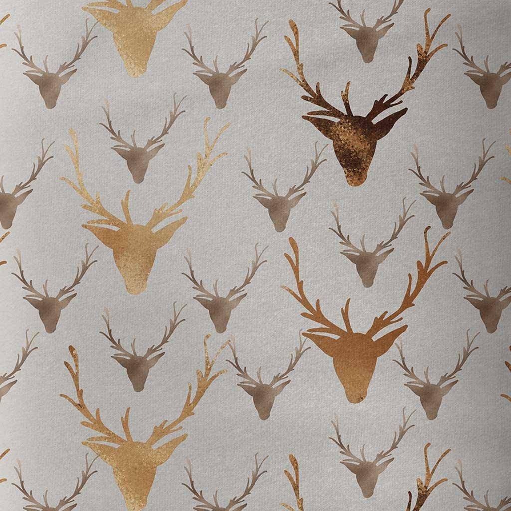 Vánoční hlavy jelenů