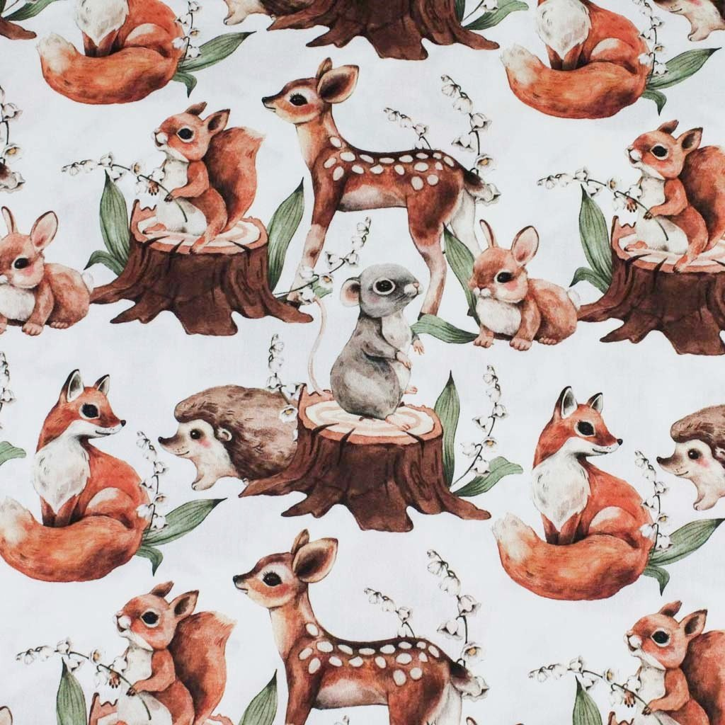 veverky a myšky na světlé
