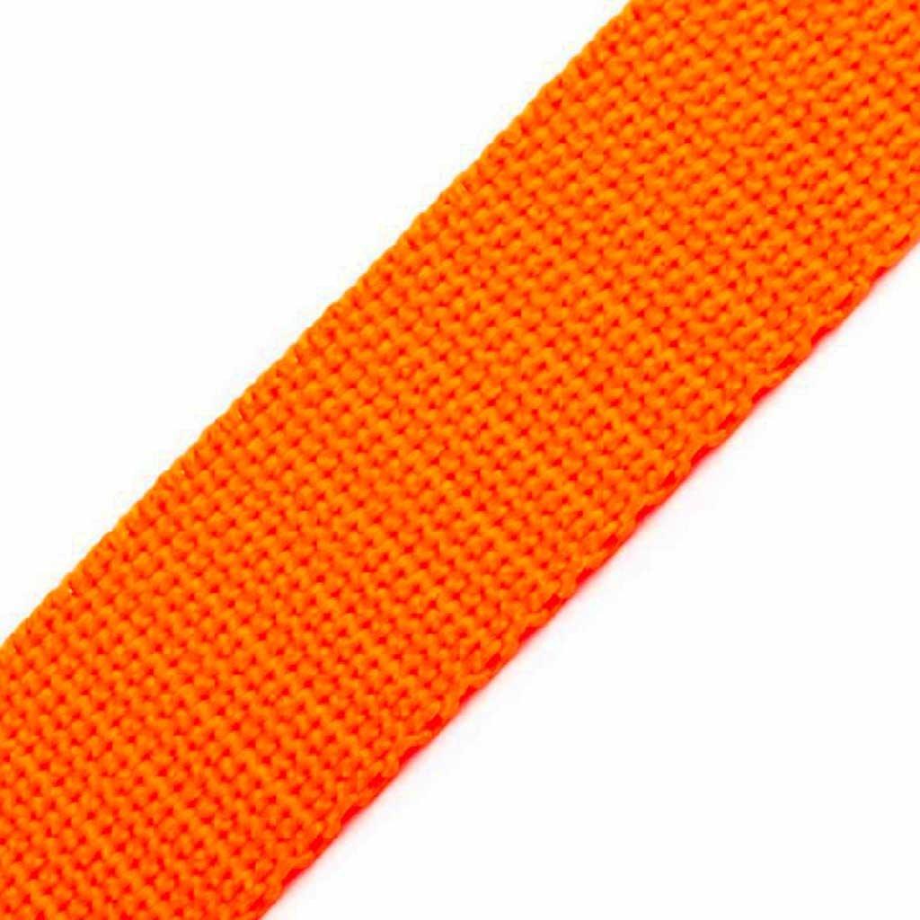 Popruh - neon oranžová 10 mm