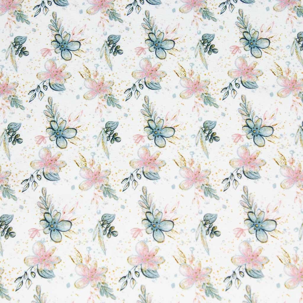 Teplákovina - květinky