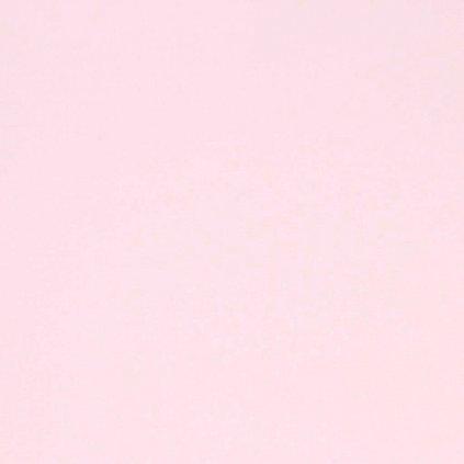světle růžová bavlna