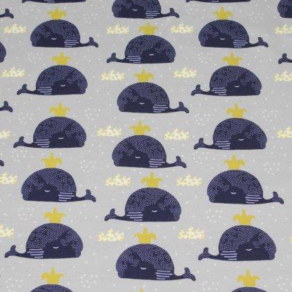 Teplákovina - velryby