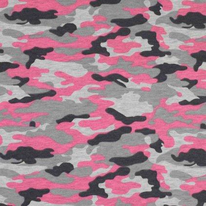 army neon růžová