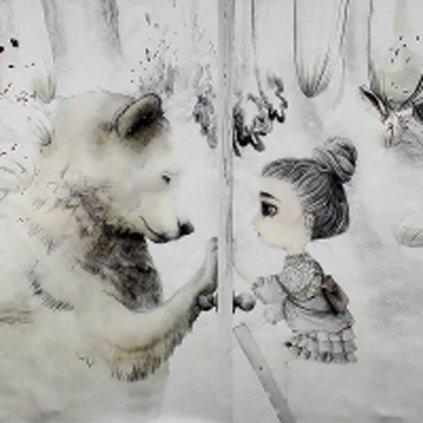Holčička a medvěd1