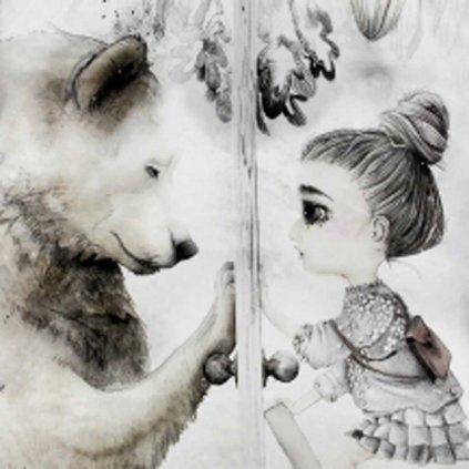 Holčička a medvěd