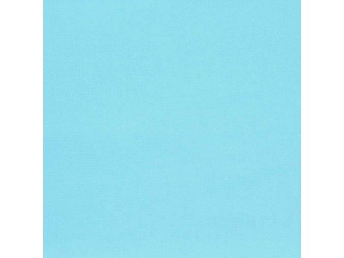 Bavlněná látka - Světle modrá