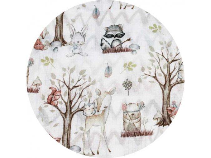Mušelín - Lesní zvířátka