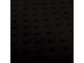 Minky puntíky - černá