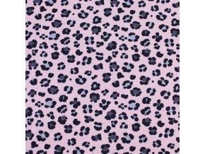 Úplet SPORT - Leopard růžový