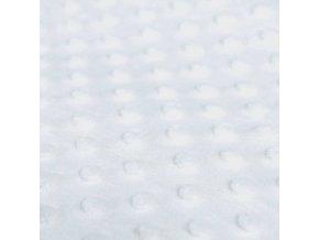 Minky puntíky - bílá