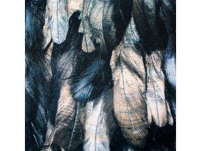 Kočárkovina - Peříčka béžová