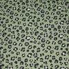 Teplákovina - leopard zelený