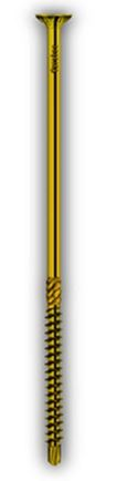 Hobotec - galvanizovaná žlutá ocel - zapuštěná hlava