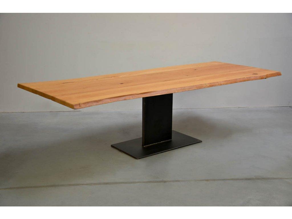 Jídelní stůl z bukového masivu (délka 300 cm, šířka 120 cm, výška 80 cm)
