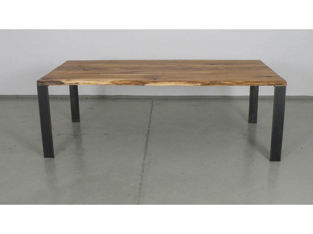 Masivní jídelní stůl z dubového masivu (délka 300 cm, šířka 120 cm, výška 80 cm)