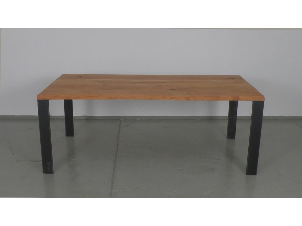 Masivní jídelní stůl z bukového masivu (délka 300 cm, šířka 120 cm, výška 80 cm)