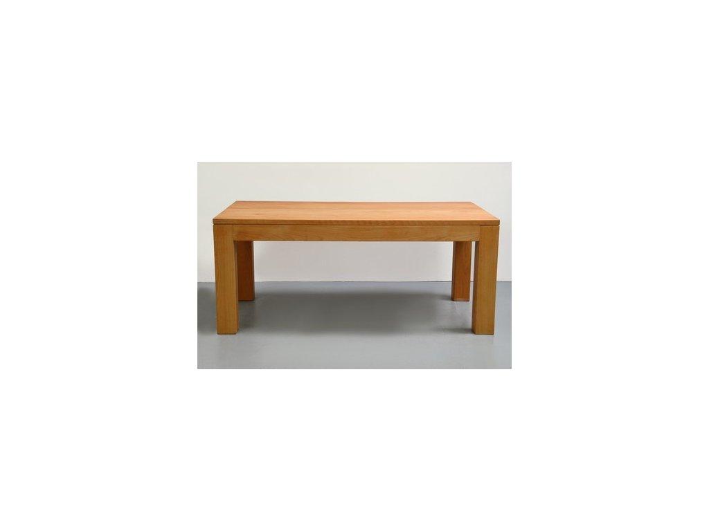 Masivní bukový jídelní stůl (rozložitelný)