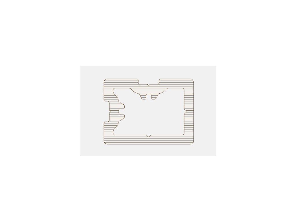 Podkladový profil 48 / 35 mm - 4m