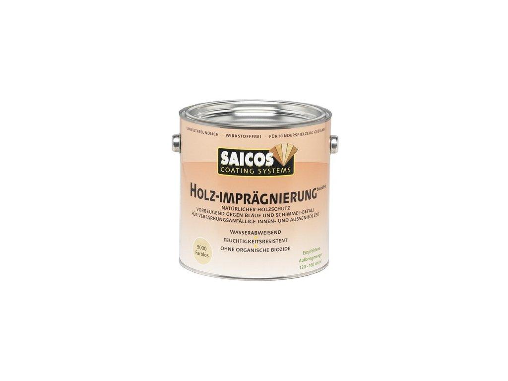 Saicos Impregnace dřeva bez biocidů 2,5 L