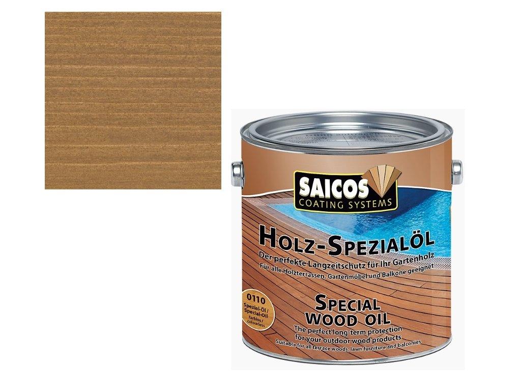 Saicos - speciální olej TEAK 0,75 L - 0118